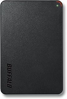 BUFFALO 2.5インチ(ポータブル) 外付けHDD 1TB ブラック HD-PCF1.0U3-BBE