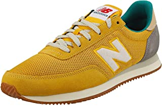basket new balance jaune