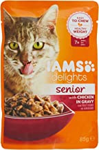 IAMS Delights Cat Wet Senior Single Chicken Gravy, 85g