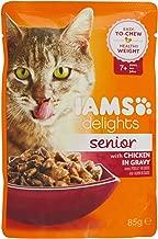 IAMS Delights Cat Wet Senior Single Chicken Gravy, 85g
