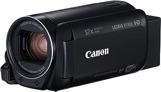 Canon LEGRIA HF R86 - Videocámara de 16 GB (Full HD Zoom Avanzado 57x IS Óptico Inteligente WiFi y NFC) Negro