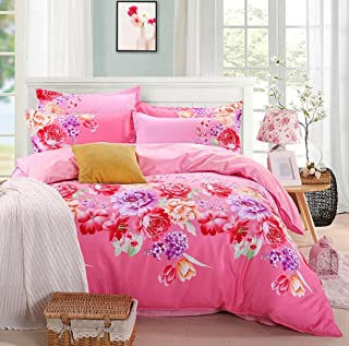 Sucastle New Spring and Summer Super Soft Flexibility Sanding Four Sets of Bedding Sucastle:Size:200230