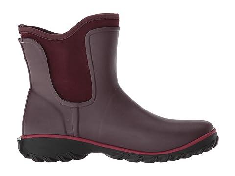 Boot On Solid Sauvie Slip Bogs BlackSageWine Hwp6qH1