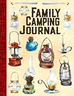 Family Camping Journal: Trip Planner - RV Road Trip Keepsake, Caravan Diary for Kids