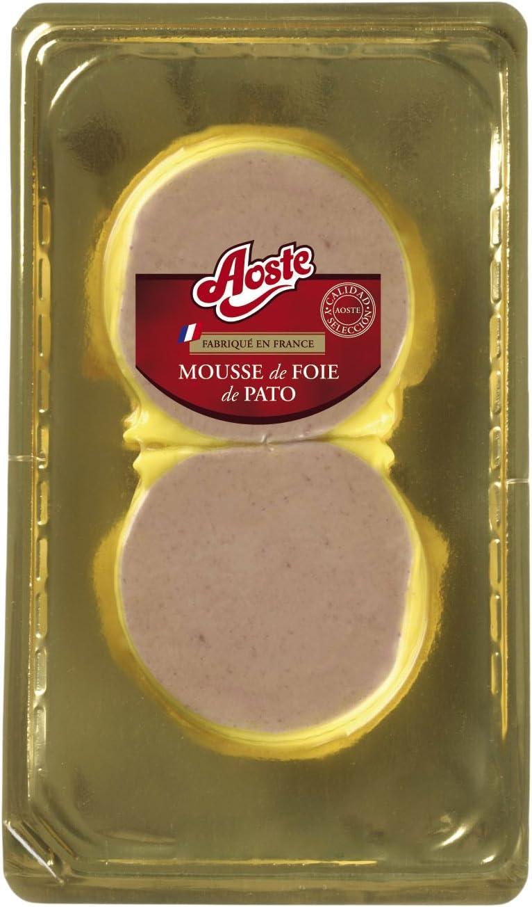 Aoste, Medallón Mousse de Pato, Pack de 2 x 100g
