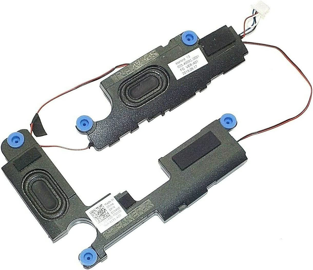 Left Right Built-in Speaker Speakers Compatible with Dell Inspiron 13 5368 5378 7368 7378 P69G P/N: 01N40D 1N40D 023.4009C.0011