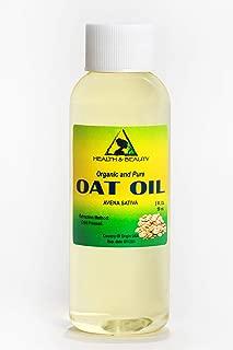 Oat Bran Oil Organic Cold Pressed Premium Natural 100% Pure 2 oz