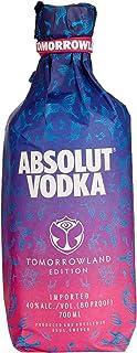 Absolut Vodka Original – Tomorrowland Festival Limited Edition mit Tomorrowland Drink Rezept auf der Flasche – 1 x 0,7 L