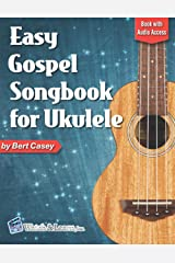 Easy Gospel Songbook for Ukulele: Book with Online Audio Access Paperback