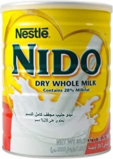 Nestle Nido Milk Powder, Imported from Holland, Specialy Formulated, Fortified with Vitamins and Minerals, Easy To Prepare...