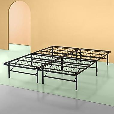 Zinus Shawn 14 Inch Metal SmartBase Bed Frame / Platform Bed Frame / No Box Spring Needed / Sturdy Steel Frame / Underbed Storage, California King