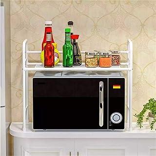 Zhicaikeji Grille de Four à Micro-Ondes Métal Multifonctionnel Four à Micro-Ondes gorin d'épices boîte de Bureau Double Co...