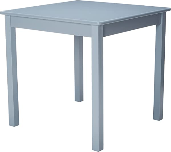 Lipper International 520G Child S Table For Play Or Activity 23 75 X 23 75 Square 21 66 Tall Grey