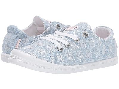 Roxy Kids Disney(r) Bayshore III (Little Kid/Big Kid) (Chambray) Girls Shoes