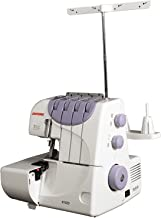 Janome 9102D Maquina Overlock, color blanco