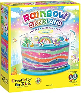 Creativity for Kids Rainbow Sandland - Make Your Own Sand Art for Kids