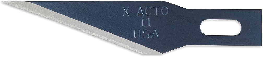 X-ACTO X-Life #11 Classic Fine Point Blades, Bulk Pack, 100 Blades per Box (X611),Silver