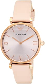 Emporio Armani Women's Leather Band Watch