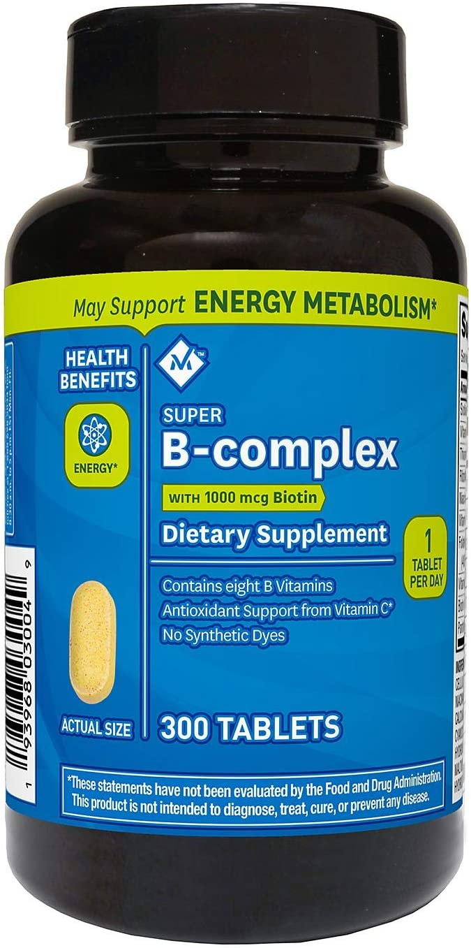 Member's Mark Super B-Complex Discount mail order Dietary Pack 300 o 100% quality warranty! Supplement ct.