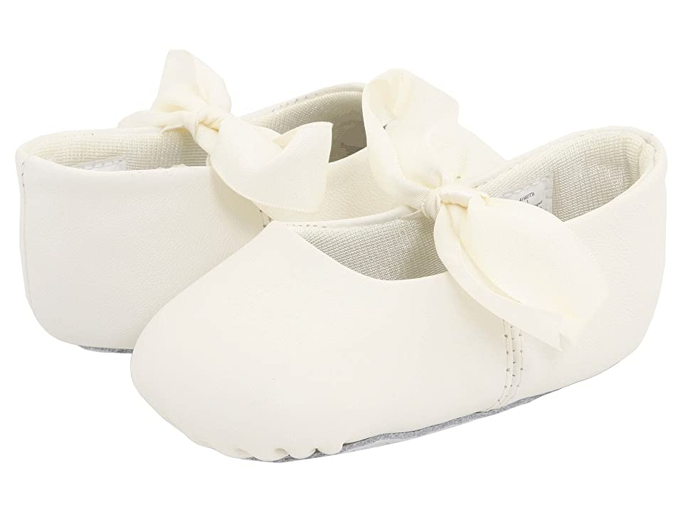 Baby Deer Sabrina Ballet (Infant) (Ivory) Girls Shoes
