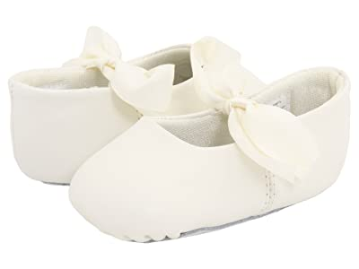 Baby Deer Sabrina Ballet (Infant) (Ivory) Girls Shoes