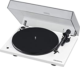 Pro-Ject Essential III Turntable with Built in Phono Preamplifier - White