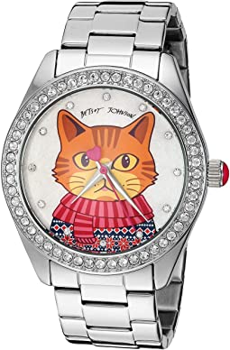 BJ00048-281 - Cat Motif Dial Watch