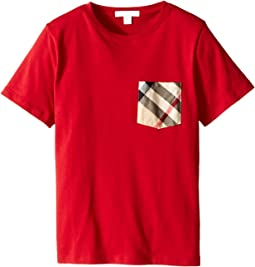 Burberry Kids - Pocket Check Tee (Little Kids/Big Kids)