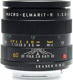 Leica 60mm f2.8 Macro-Elmarit R 3-Cam (7+)