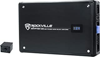 $164 » Rockville Krypton-M3 4000w Max/1000w RMS Mono 1 Ohm Car Amplifier Amp+Remote