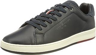 Tommy Hilfiger Herren Retro Tennis Cupsole Leather Sneaker