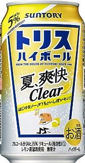 サントリー トリスハイボール缶 夏・爽快Clear [ ウイスキー 日本 350ml×24本 ]