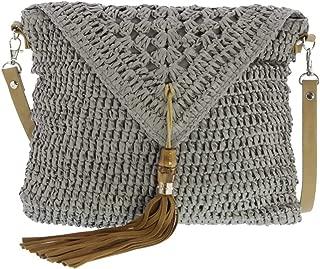 Sorrento Straw Crossbody Bag