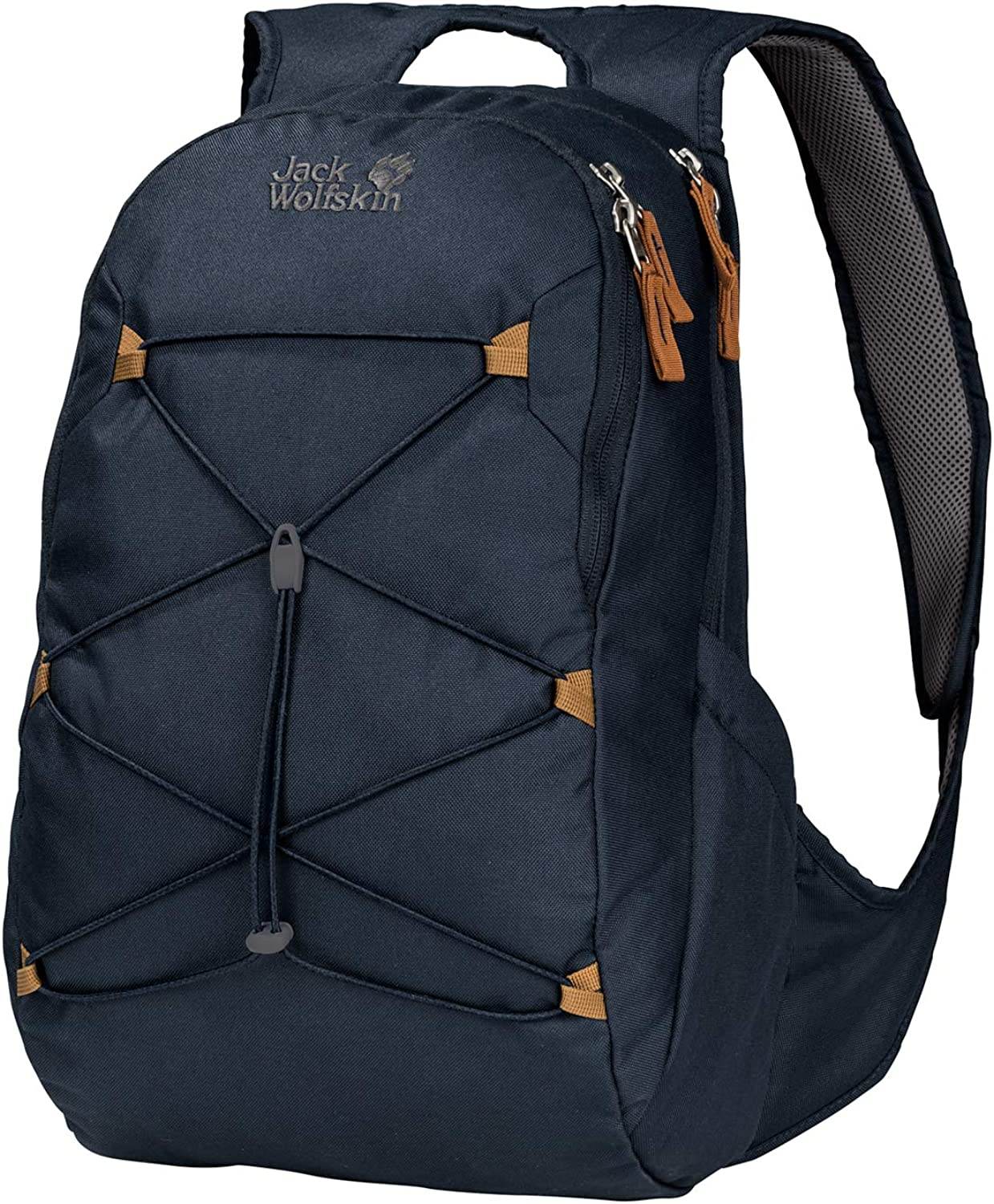 Jack Wolfskin Savona 20L Small Women's Daypack with Bungee Cord, Night bluee