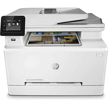 Hp Color Laserjet Pro M283fdn Multifunktions Farblaserdrucker Computer Zubehör