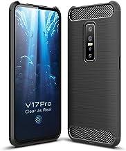 FanTing Case for vivo V17 Pro, Anti-Slip Ultra Thin Shock Absorption Anti Scratch Protective, Cover for vivo V17 Pro -Black