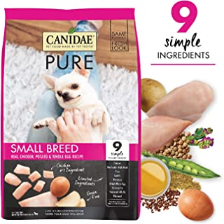 CANIDAE PURE Small Breed Real Chicken, Limited Ingredient, Grain Free Premium Dry Dog Food