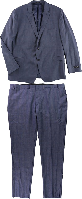 Ralph Lauren Mens Professional Formal Tuxedo, Blue, 54 Long / 50W x 39L