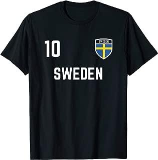 Sweden Soccer Jersey 2019 Swedish Flag Football Team Shirt