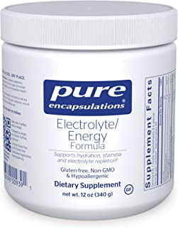 Pure Encapsulations - Electrolyte/Energy Formula - Hypoallergenic Supplement to Support Physical and Mental Stamina - 12 O...