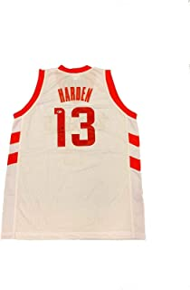 Sponsored Ad - James Harden Signed Houston Rockets (Home White) Jersey BECKETT BAS - Autographed NBA Jerseys