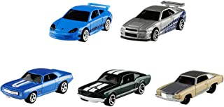 Hot Wheels Fast & Furious 5-Pack 1:64 Scale Vehicles...