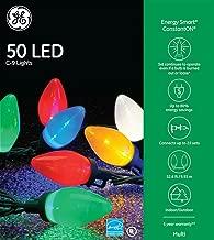 Best ge c-9 glow bright lights Reviews