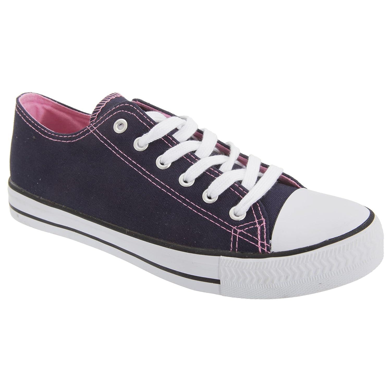 [Dek] デク レディース ウィメンズ 6アイレットレースアップ プリムソール スニーカー 婦人靴 カジュアルシューズ 普段履き 女性用