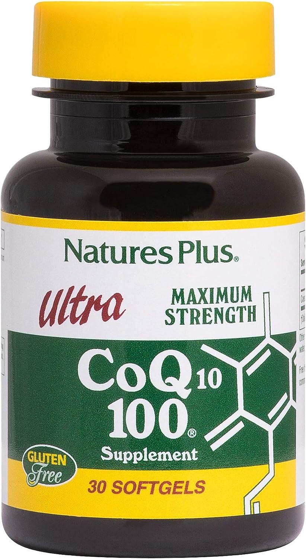 NaturesPlus Ultra CoQ10 100-100 Time sale mg - 30 Ubiquinone Recommendation Softgels Con