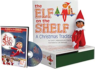 The Elf on the Shelf A Christmas Tradition Brown Eyed North Pole with An Elf Story DVD