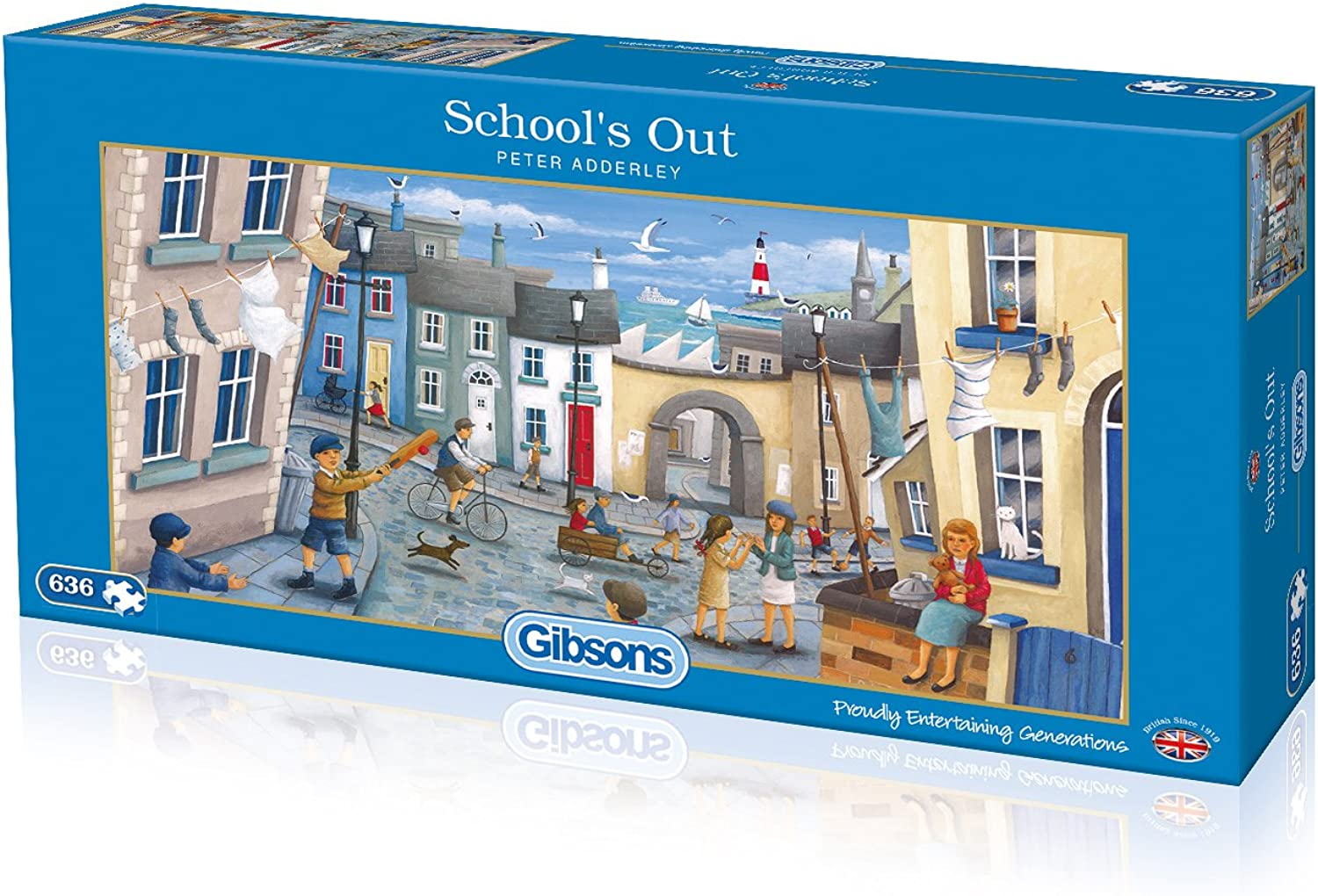 Gibsons 636 Pieces School's Out Jigsaw Puzzle
