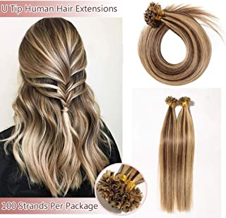 100 strands of hair extensions