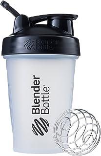 BlenderBottle Classic Loop Top Shaker Bottle, 20-Ounce, Clear/Black/Black 20oz Black FID63088