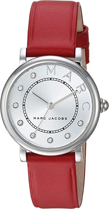 Marc Jacobs Women's MJ1632 Analog Quartz Red Watch